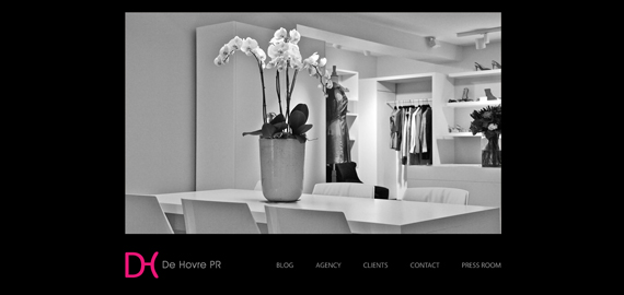 De Hovre PR - PR Agency - Serving you the hottest fashion news in the industry - Website
